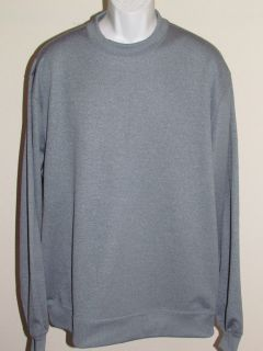 under armour new men large blue long sleeve sweater nwt