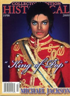 Michael Jackson King of Popl 1958 2009 Historical Collectors Edition