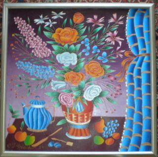 Yuri Gorbachev Original Oil Painting Russian Art Folk