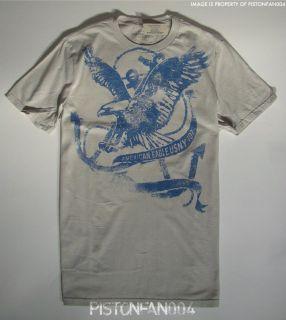 American Eagle Mens Gray Nautical Graphic T Shirt XXXL