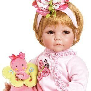 Boo Baby Girl Toddler Vinyl Doll Blond Hazel Green Eyes New 20