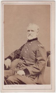 cdv american civil war portrait of general hazen