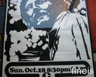 Gordon Lightfoot Original 1973 Vintage Screened Poster Canada Queens