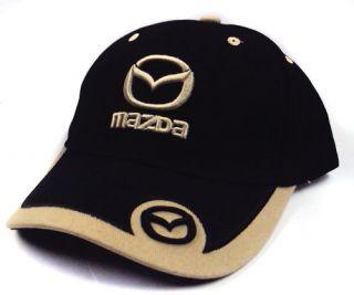 Mazda Black NS Sport Hat Cap New Ball Hats Look