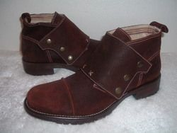 Gordon Rush Suede Leather High Top Boots footwear Dress Mens Used