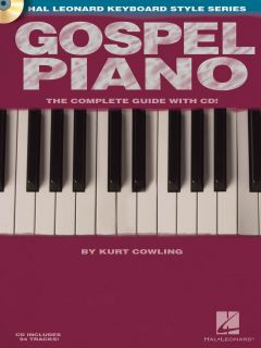 Gospel Piano The Complete Guide Sheet Music Song Book w CD