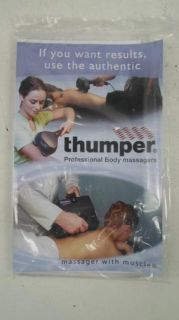 Thumper Mini Pro2 NA01N Hand Held Massager $270 Value