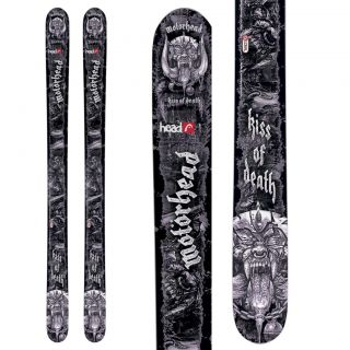 bidding on a pair of brand new, 2012 Head Kiss of Death 181cm Skis