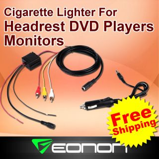 A0306 Cigarette Lighter for Car Headrest DVD Player K3