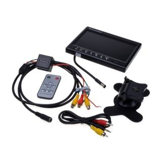 TFT LCD Color Adjustable DVD VCR Car Rearview Headrest Monitor