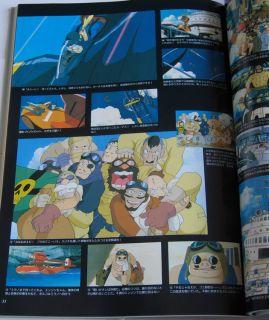 Hayao Miyazaki Roman Album Art Book Porco Rosso Crimson Pig Ghibli New