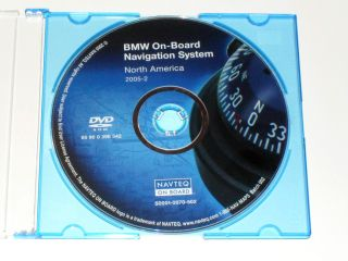 NAVIGATION DISC DVD CD 2005 2 NAVAGATION DISK OEM GPS MAP TRUNK MOUNT