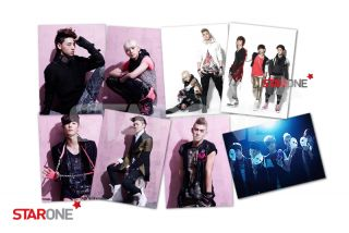 Pop NuEst 1st Mini Album Action CD Gift Nuest Photo 8 Set