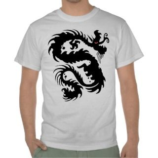 Chinese Dragon Tattoo Tee Shirts