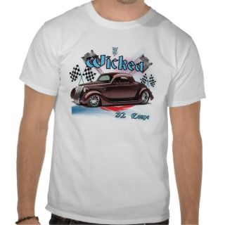 32 Ford Coupe Hot Rod T Shirt