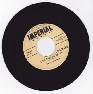 Hear Doo Wop R B Bopper 45 Grady Chapman Lets Talk About US Imperial