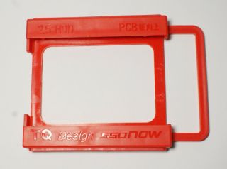 New 2 5 HDD SSD to 3 5 HDD Hard Drive Mounting Adapter Bracket Dock