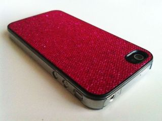 Bling Glitter Hard Case for Apple iPhone 4G 4S Screen Protector