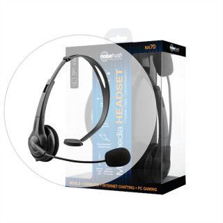 NX70 Black Multimedia Headset for Casio GzOne Commando