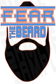 Funny Shirt James Harden OKC Fear The Beard Oklahoma Shirt Adult Sizes