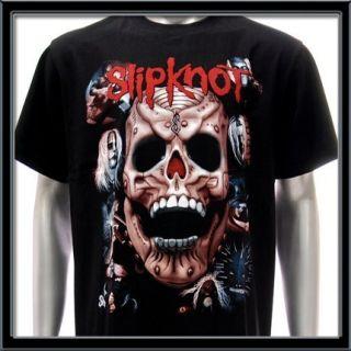 Sz M Slipknot T Shirt Heavy Metal Rock Music Punk Tour