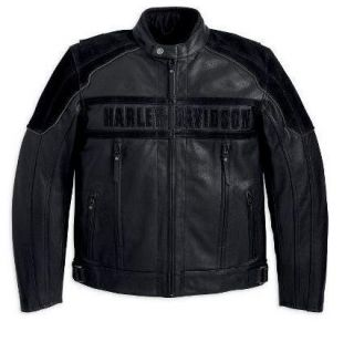 Harley Davidson Mens Challenger Waterproof Leather Jacket 97063 11VM