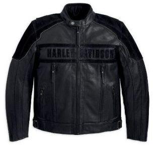Harley Davidson Mens Challenger Waterproof Leather Jacket 97063 11VM