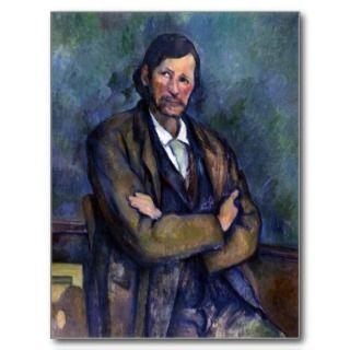 Paul Cezanne   Self Portrait Postcards