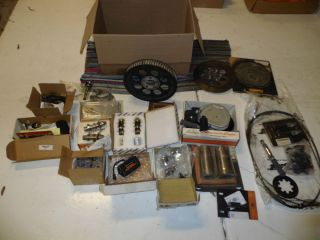 harley davidson parts lot