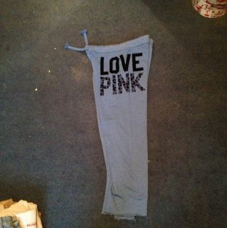 Victorias Secret Pink Sweatpants Sz M