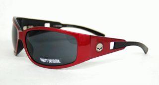 Harley Davidson Wilie G Skull Red Sunglasses
