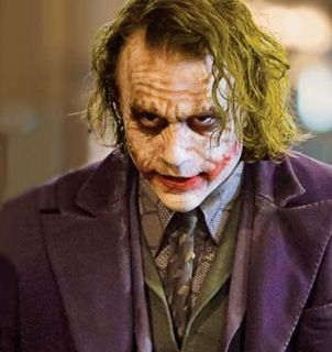 The Dark Knight Batman Heath Ledger Joker Movie Script