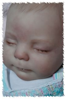 New Release Reborn Heather OOAK Doll Lifelike Art Artist Baby Donna