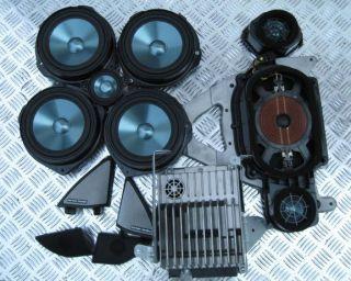 W207 E Class Sound System Harman Kardon Speakers Amplifire