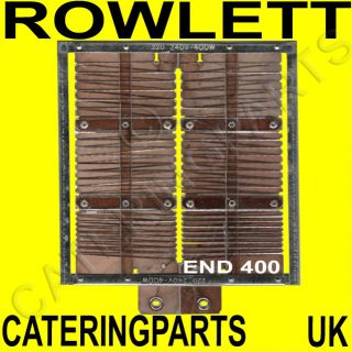 Spare End Heating Element Suits Rowlett Rutland Toaster