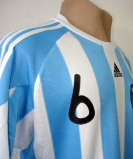 Original 2010 Argentina Home Soccer Jersey Heinze 6