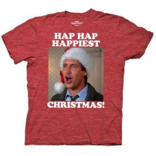 Lampoons Christmas Vacation Hap Hap Happiest Christmas T Shirt Tee