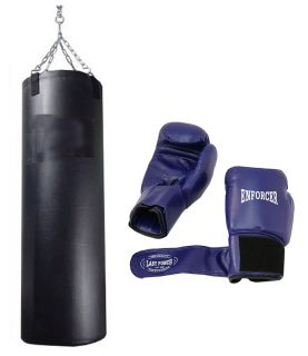 Punching Bag Pro Boxing Pair Gloves Heavy Duty New