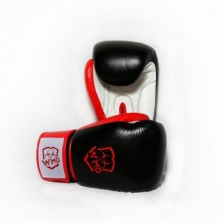 18oz Real Leather Boxing Punching Bag Training Gloves