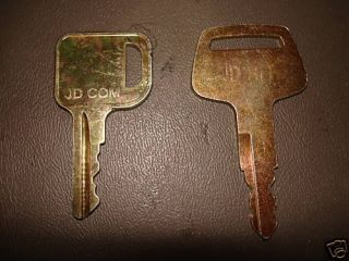John Deere Heavy Equipment Keys Common Excavator