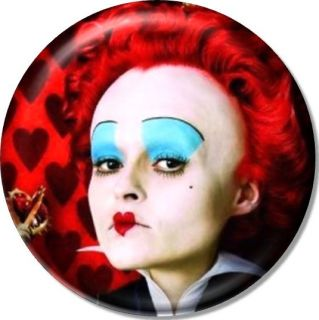 Queen of Hearts 1 25 Pin Button Badge Magnet Alice Wonderland Tim