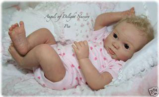 Reborn Doll Pia Sigrun Heck Vinyl Doll Kit