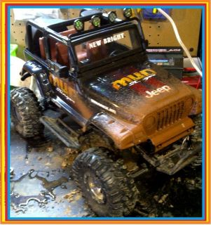 10 Scale Jeep Rubicon Hard Body SCX10 Crawler CC01 CR01 CJ YJ HPI RC