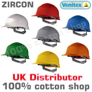 Venitex Zircon Hard Hat Safety Helmet Cap Construction