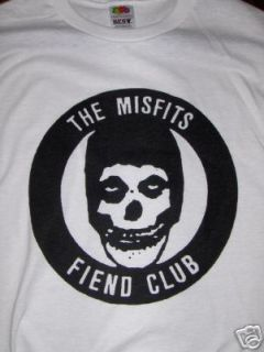 Misfits Fiend Club T Shirt 1980s Hardcore Punk HC