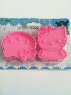 Hello Kitty Cookie Sandwich Cutter Mold