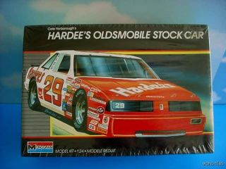 Carl Yarboroughs Hardees Oldsmobile Stock Car Model Kit Monogram