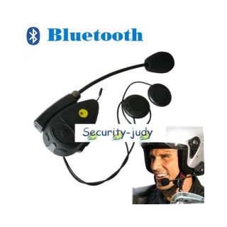 Motorcycle Helmet Bluetooth Headset Intercom FM Radio