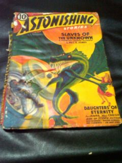 Astonishing Stories Pulp March 1942 Pied Piper Robert Heinlein