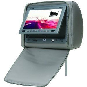 Concept Roadview RHM 7 0g 7 inch Headrest Monitor with DVD Player Gray